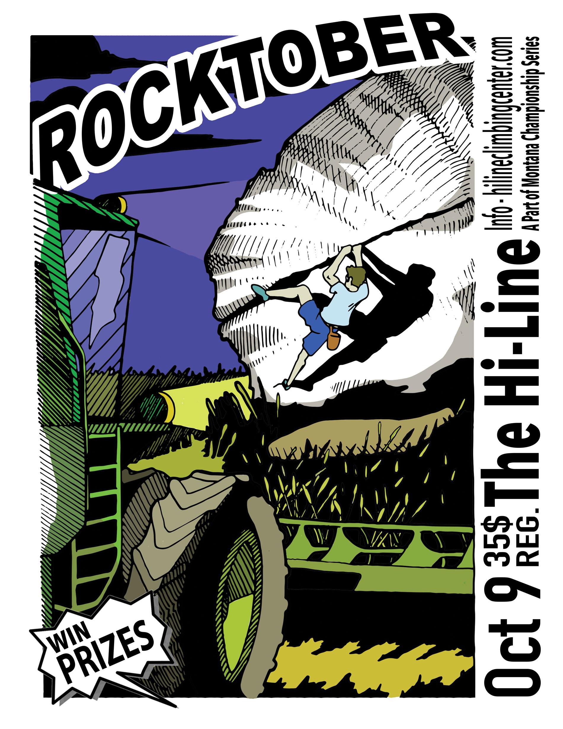 Rocktober Bouldering Competition